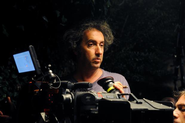 Regisseur Paolo Sorrentino bei den Dreharbeiten zum Film