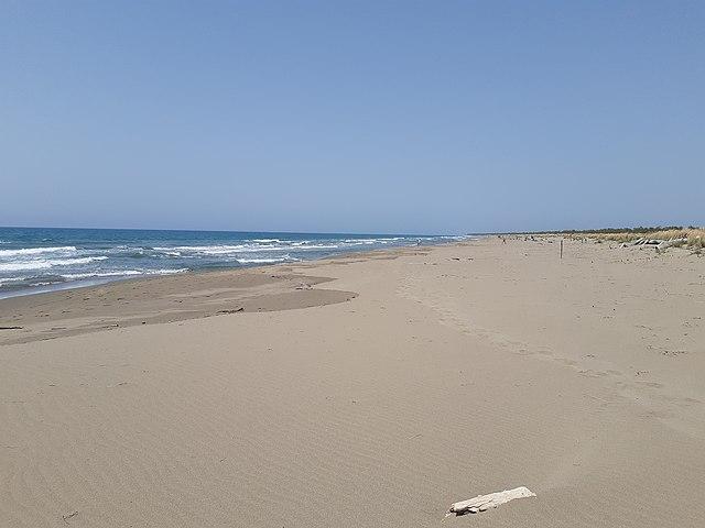 Spiaggia di Collelungo, Toskana